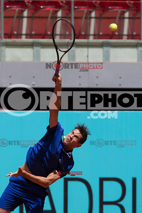 Guillermo Garcia Lopez  during Mutua Madrid Open Tennis 2017 at Caja Magica in Madrid, May 08, 2017. Spain. /NortePhoto.com