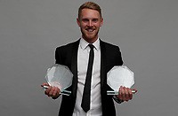 Jamie Porter won the player of the year award during the Essex CCC 2017 Awards Evening at The Cloudfm County Ground on 5th October 2017