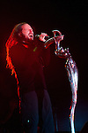 Jonathan Davis of Korn performs during the 2013 Rock On The Range festival at Columbus Crew Stadium in Columbus, Ohio.