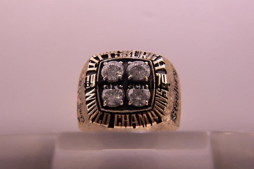 Super Bowl Ringe der einzelnen Siegerteams: XIV Pittsburgh Steelers - 1979