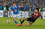 Millonarios ganó como local 1-0 (1-1 en el global) a Atlético Paranaense, pero quedó eliminado por penales. Partido de vuelta de la segunda fase de la Conmebol Libertadores 2017.