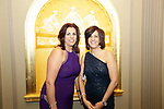 Waterbury, CT- 28 April 2017-042817CM17-  From left Elaine Orsini and Rita Valionis both of Watertown are photographed during the 10th annual Jane Doe No More gala and awards ceremony at the Palace Theater in Waterbury.   Christopher Massa Republican-American