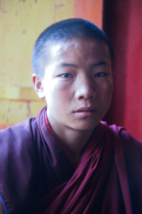 Many of today's Tibetan Bhudist monks are quite young.