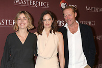LOS ANGELES - FEB 1:  Anna Symon, Ruth Wilson, Ian Glen at the Masterpiece Photo Call at the Langham Huntington Hotel on February 1, 2019 in Pasadena, CA