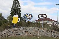 Kerb in Büttelborn auf dem Kreisel an der Darmstaedter Straße
