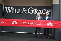 02 August 2017 - Universal City, California.  David Kohan, Max Mutchnick. 'Will & Grace' start of production kick off event and ribbon cutting ceremony at Universal Studios Photo Credit: PMA/AdMedia