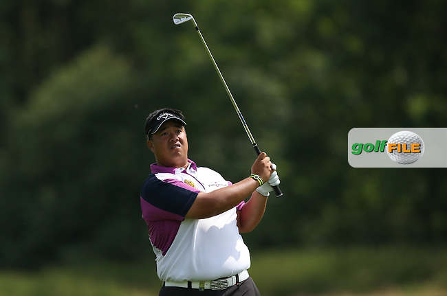 Kiradech Aphibarnrat (THA) carded 6 birdies settling for a 67 during Round One of the 2015 BMW International Open at Golfclub Munchen Eichenried, Eichenried, Munich, Germany. 25/06/2015. Picture David Lloyd | www.golffile.ie