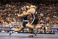PHILADELPHIA, PA - MARCH 19: during the NCAA Wrestling Championships on March 19, 2011 at the Wells Fargo Center in Philadelphia, Pennsylvania. (Photo by Hunter Martin/Getty Images) *** Local Caption ***