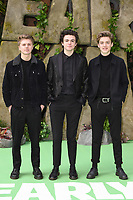 New Hope Club at the &quot;Early Man&quot; world premiere at the IMAX, South Bank, London, UK. <br /> 14 January  2018<br /> Picture: Steve Vas/Featureflash/SilverHub 0208 004 5359 sales@silverhubmedia.com