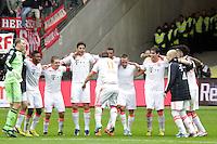 Bayern jubeln ueber die Meisterschaft - Shaqiri tanzt dazu