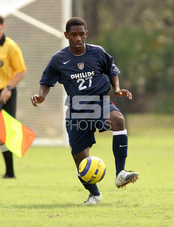 Jonathan Collier, Nike Friendlies, 2004.