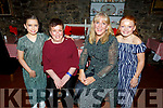 Molly and Martina McCarthy, Audrey and Ellie Heaney enjoying the night out in Finnegans on Saturday night.