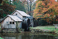 Photo of Mabry Mill on the Blue Ridge Parkway in Southern Virginia