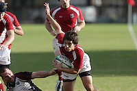 2 December 2007: Stanford falls to Chico State 26-14 at Steuber Rugby Stadium in Stanford, CA.