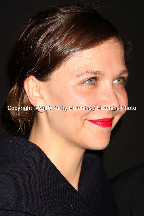 Maggie Gyllanhaal .arriving at the 25th Santa Barbara International Film Festival Cinema Vanguard Awards.Lobero Theater.Santa Barbara, CA.February 12, 2010.©2010 Kathy Hutchins / Hutchins Photo....