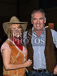 Tony and Pamela McCann at the Hoolie on the Hill. Photo:Colin Bell/pressphotos.ie