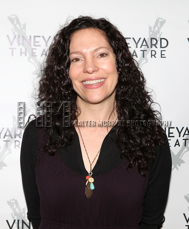 Director Giovanna Sardelli attending the Meet & Greet for the Vineyard Theatre Production of 'The North Pool'  at The Vineyard Theatre in New York City on 1/30/2013