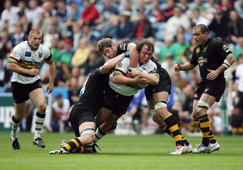 Photo: Rich Eaton...Northampton Saints v London Wasps. Heineken Cup, Semi Final. 22/04/2007.