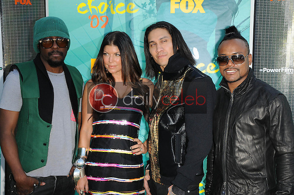 The Black Eyed Peas<br />at the Teen Choice Awards 2009. Gibson Amphitheatre, Universal City, CA. 08-09-09<br />Dave Edwards/DailyCeleb.com 818-249-4998