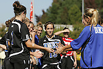 26 October 2008: Duke's Lorraine Quinn. The Duke University Blue Devils defeated the Clemson University Tigers 6-0 at Koskinen Stadium in Durham, North Carolina in an NCAA Division I Women's college soccer game.