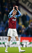 2nd February 2019, Turf Moor, Burnley, England; EPL Premier League football, Burnley versus Southampton; Peter Crouch of Burnley claps the fans at the end of the 1-1 draw
