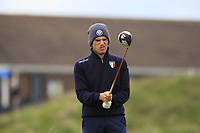 Giovanni Manzoni (ITA) on the 5th tee during Round 1 of the The Amateur Championship 2019 at The Island Golf Club, Co. Dublin on Monday 17th June 2019.<br /> Picture:  Thos Caffrey / Golffile<br /> <br /> All photo usage must carry mandatory copyright credit (© Golffile | Thos Caffrey)