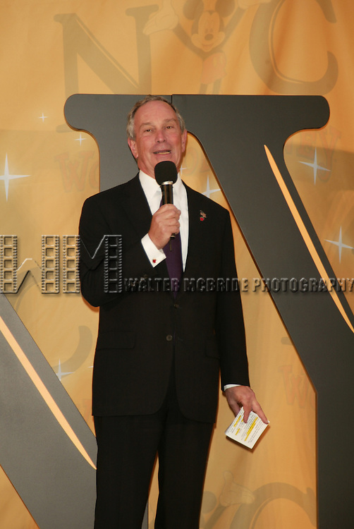 Mayor Michael Bloomberg.Attending the Grand Opening Celebration of The World of Disney Flagship Store on Fifth Avenue in New York City..October 4, 2004.© Walter McBride /