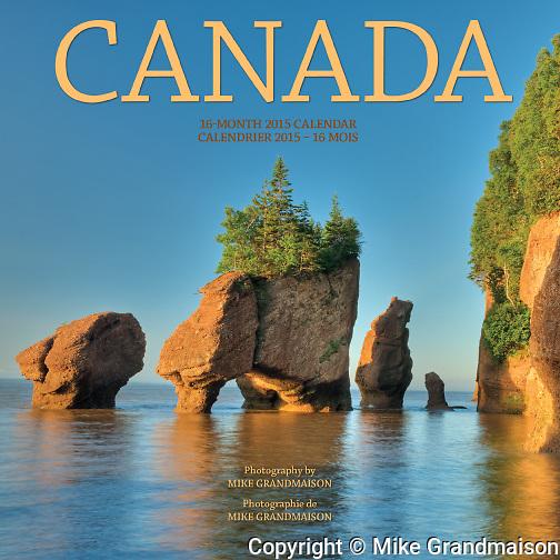 PRODUCT: Calendar<br /> TITLE: Canada<br /> CLIENT: Wyman Publishing
