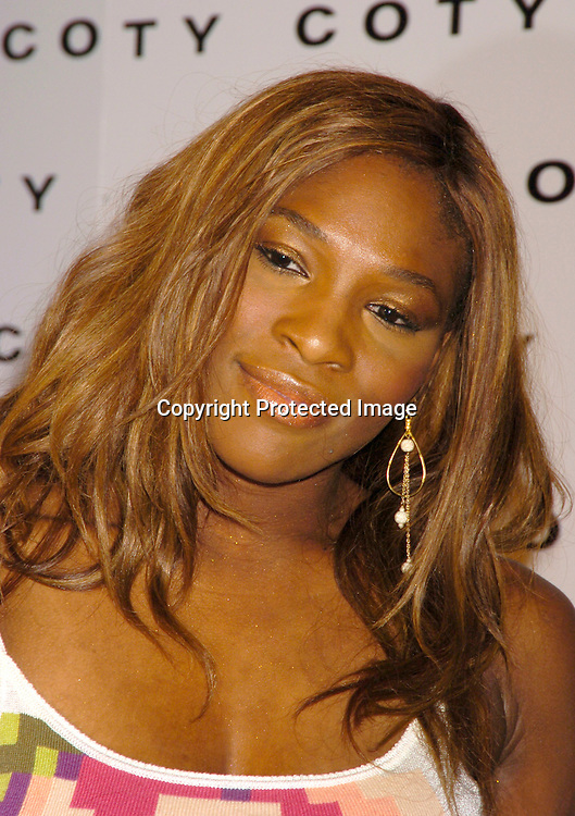 Serena Willliams ..at Coty's 100th Anniversary Celebration  on September 12, 2004 at the  American Museum of Natural Historys Rose Center for Earth and Space ..Photo by Robin Platzer, Twin Images