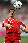 15 June 2006: Carlos Edwards (TRI). England defeated Trinidad and Tobago 2-0 at the Frankenstadion in Nuremberg, Germany in match 19, a Group B first round game, of the 2006 FIFA World Cup.