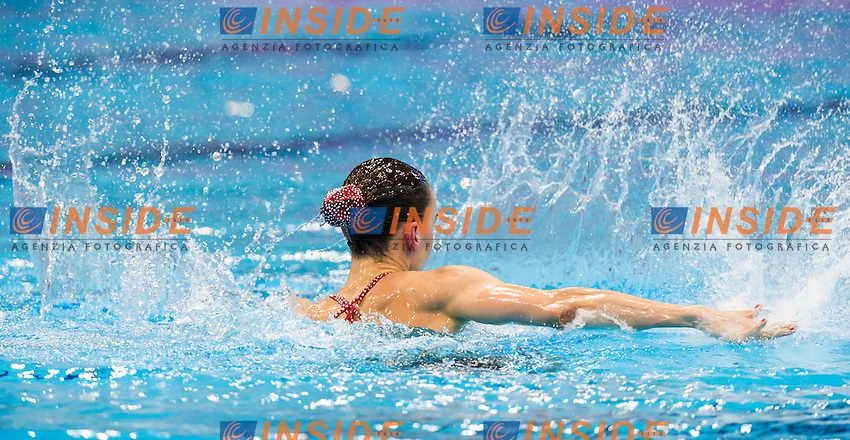ISCHENKO Natalia RUS gold medal<br /> London, Queen Elizabeth II Olympic Park Pool <br /> LEN 2016 European Aquatics Elite Championships <br /> Synchro<br /> Solo free final <br /> Day 02 10-05-2016<br /> Photo Giorgio Perottino/Deepbluemedia/Insidefoto