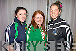 The Annual ITT FITTSPORT convention was held at the Carlton on Friday. Pictured here are ITT students, Laura Lavery, Triona Brassil and Helen Burke.