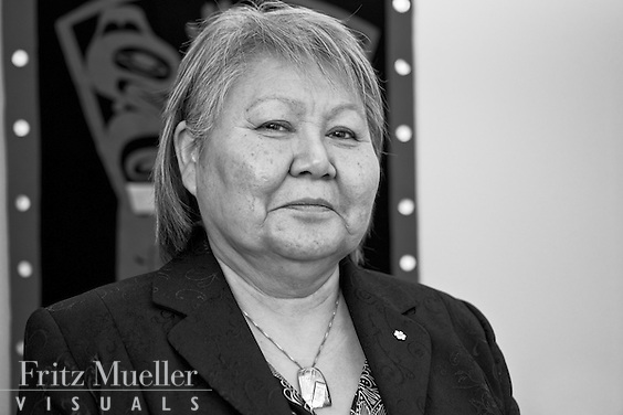 Judy Gingell of Yukon Indian Development Corporation in Whitehorse