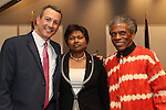 André De Shields, Ambassador Mathilde Mukantabana @ Celebrate Rwanda! The SUNY Global Center 6/29/16