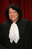 Washington, DC - September 29, 2009 -- Associate Justice of the United States Supreme Court Sonia Sotomayor poses for a photo during a photo-op at the U.S. Supreme Court in Washington, D.C. on Tuesday, September 29, 2009..Credit: Gary Fabiano / Pool via CNP