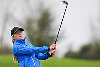 Sara Byrne (Douglas) during the Irish Girls' Open Stroke Play Championship, Roganstown Golf Club, Swords, Ireland. 13/04/2018.<br /> Picture: Golffile | Fran Caffrey<br /> <br /> <br /> All photo usage must carry mandatory copyright credit (&copy; Golffile | Fran Caffrey)