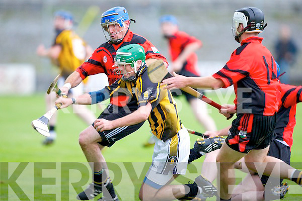 Ballyheigue's Sean Colgan and Abbeydorney's Mike Hanafin.
