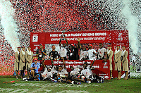 Emirates Dubai Rugby Sevens - HSBC World Rugby Sevens Series at The Sevens Stadium on December 2015
