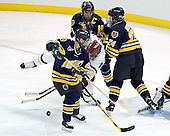 Bryan Schmidt, Brian Boyle, Derek Pallardy, Scott Drewicki - Boston College defeated Merrimack College 3-0 with Tim Filangieri's first two collegiate goals on November 26, 2005 at Kelley Rink/Conte Forum in Chestnut Hill, MA.