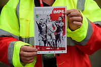 A close up of the Lincoln City match day magazine We Are Imps<br /> <br /> Photographer Chris Vaughan/CameraSport<br /> <br /> The Carabao Cup Second Round - Lincoln City v Everton - Wednesday 28th August 2019 - Sincil Bank - Lincoln<br />  <br /> World Copyright © 2019 CameraSport. All rights reserved. 43 Linden Ave. Countesthorpe. Leicester. England. LE8 5PG - Tel: +44 (0) 116 277 4147 - admin@camerasport.com - www.camerasport.com