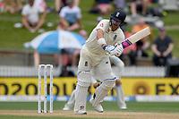 1st December 2019, Hamilton, New Zealand;  Joe Root clips off his legs for runs.  International test match cricket, New Zealand versus England at Seddon Park, Hamilton, New Zealand. Sunday 1 December 2019.