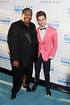 WEST HOLLYWOOD, CA- SEPTEMBER 12: Actor Leslie David Baker (L) and guest attend Mercy For Animals 15th Anniversary Gala at The London on September 12, 2014 in West Hollywood, California.