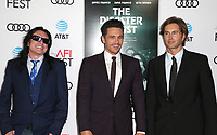 12 November 2017 - Hollywood, California - Tommy Wiseau, James Franco, Greg Sestero. &quot;The Disaster Artist&quot; AFI FEST 2017 Screening held at TCL Chinese Theatre. <br /> CAP/ADM/FS<br /> &copy;FS/ADM/Capital Pictures