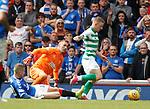 01.09.2019 Rangers v Celtic: Jonny Hayes scores goal no 2