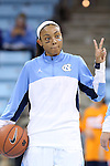 30 October 2013: North Carolina's Latifah Coleman. The University of North Carolina Tar Heels played the Carson-Newman College Eagles in a women's college basketball exhibition game at Carmichael Arena in Chapel Hill, North Carolina. UNC won the preseason game 111-50.