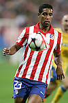 Atletico de Madrid's Cleber Santana during UEFA Champions League match. September 15, 2009. (ALTERPHOTOS/Alvaro Hernandez).