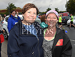 Laurie Bell and Marie Reynolds who took part in the SOSAD 5K run. Photo:Colin Bell/pressphotos.ie