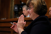 Republican prosecutor Rachel Mitchell questions professor Christine Blasey Ford, who has accused U.S. Supreme Court nominee Brett Kavanaugh of a sexual assault in 1982, during a Senate Judiciary Committee confirmation hearing for Kavanaugh on Capitol Hill in Washington, U.S., September 27, 2018. REUTERS/Jim Bourg