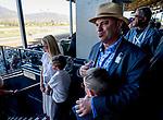 November 1, 2019: Wrecking Crew trainer Peter Miller before the TVG Breeders' Cup Juvenile at Santa Anita Park in Arcadia, California on November 1, 2019. Scott Serio/Eclipse Sportswire/Breeders' Cup/CSM