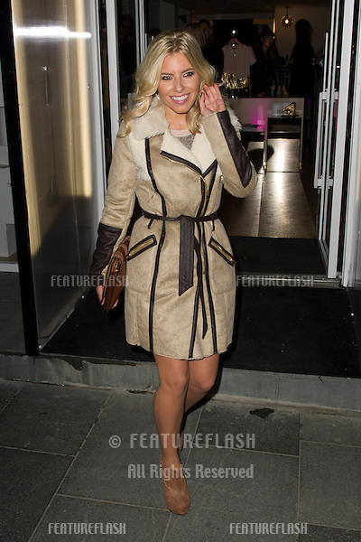 Mollie King and Vanessa White arriving at the Launch of the Supertrash Store on Molten Street, London. 21/11/2012 Picture by: Simon Burchell / Featureflash
